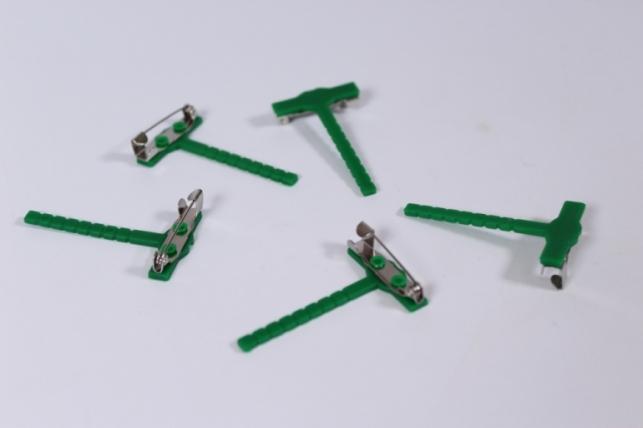 булавка для  бутаньерок зеленая (5шт в уп)