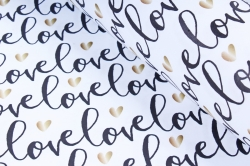 "Бумага 1*70 Дизайнерская бумага ""Черная Любовь"" 78г/м2  10шт/уп  UNCHL"