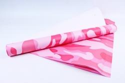 Бумага 1*70 Дизайнерская бумага Хаки Светло-розовый 78г/м2  10шт/уп PinW5 М
