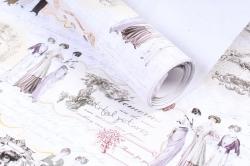 "Бумага 1*70 Дизайнерская бумага ""Париж ретро"" 78г/м2  10шт/уп  GPPARIS"