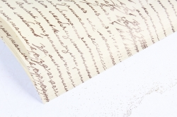 """Бумага 1*70 Дизайнерская бумага """"Пушкинские строки"""" 78г/м2  10шт/уп  PinPS  М"""