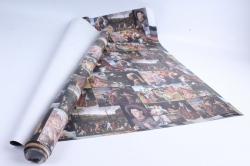Бумага 1*70 Дизайнерская бумага Ренесанс 78г/м2  10шт/уп PinRen  М