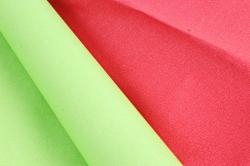 """Бумага (Д) крафт """"PF"""" тонировка гладкая КРАСНЫЙ/ САЛАТ 70см х 8м 400гр. 2ст.  6842"""