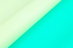 "Бумага (Д) крафт ""PF"" тонировка гладкая ЗЕЛЕНАЯ/ СВ.-САЛАТОВАЯ 70см х 8м 400гр. 2ст.  6531"