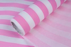 бумага  дизайнерский белый крафт полосы (розовый)  40г/м2  р907   м