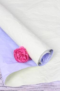 Бумага Эколюкс двухцветная салатовый/сиреневый 70см* 5ярдов 4476Н