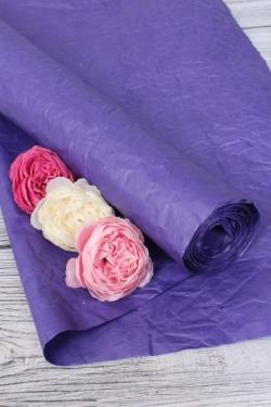 Бумага Эколюкс однотонный фиолетовый 70см* 5ярдов 4834Н