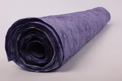 бумага жатая 70см*5 ярд фиолет (16)