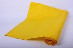 Бумага жатая 70см*5 ярд Жёлтый (01)