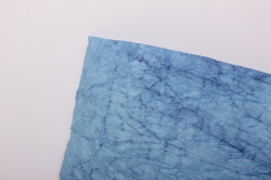 бумага жатая 70см*5 ярд голубой (02)