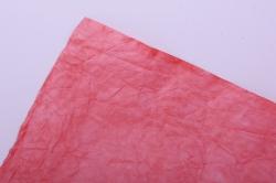 бумага жатая 70см*5 ярд коралл (18)