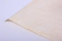 бумага жатая 70см*5 ярд кремовый (10)