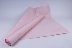 бумага жатая 70см*5 ярд нежно-розовый (45)