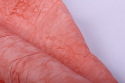 бумага жатая 70см*5 ярд персик (33)