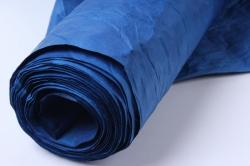 бумага жатая 70см*5 ярд синий  (47)