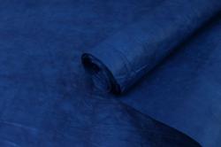 Бумага жатая 70см*5 ярд Темно-синий (47)