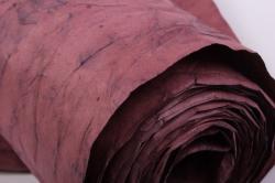 бумага жатая 70см*5 ярд вишня в шоколаде (31)