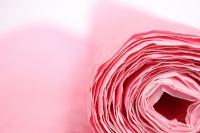 бумага жатая, однотонная, 70-75см/5я (чайная роза, 4106)