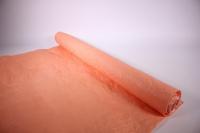бумага жатая, однотонная, 70-75см/5я (персиковая, 4104)