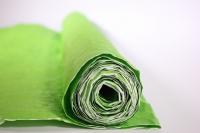 бумага жатая, однотонная, 70-75см/5я (салатовая, 496)