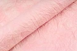 Бумага жатая 70см*5 ярд Морганит (св. розовый)  (56) 2х-стор.