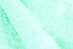 Бумага жатая 70см*5 ярд Светло-зеленый (27)
