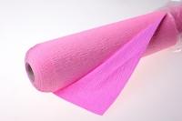 Бумага жатая водостойкая для цветов 2х-цветная 50х10м - Светло розовый-розовый
