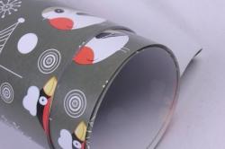 бумага  глянец  01/х001  нов. год. певчие снегири 100*70см (10 листов)