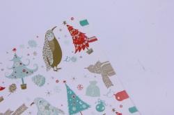 бумага  глянец  01/х002  нов. год. зимняя фантазия 100*70см (10 листов)