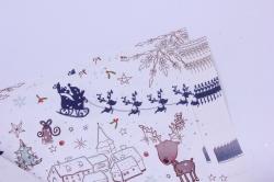 бумага  глянец  01/х005  нов. год. предвестники нового года 100*70см (10 листов)