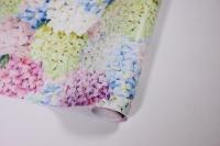 бумага глянец 100/330 воздушная гортензия 0,7*1м (10листов)