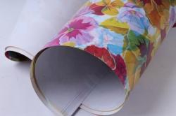 бумага глянец  100/350 радуга цветов  68*98см (10 листов)