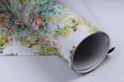 бумага глянец  100/354 цветочная палитра 68*98см (10 листов)