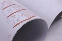 бумага  глянец 100/404 сладкое счастье  0,7*1м (10 лист.)
