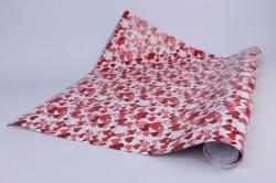бумага  глянец 100/457 переплетение сердец 0,7*1м (10 лист.)