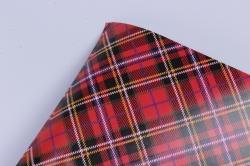 бумага  глянец 100/629 шотландка  0,7*1м (10 лист.)