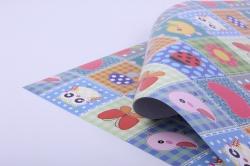 бумага глянец 100/818 аппликации  0,7*1м  (10листов)