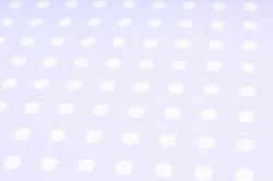 Бумага ГЛЯНЕЦ  01/014 Белый горошек на сиреневом  68*98см (10 листов)