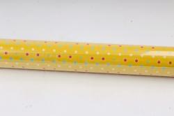 Бумага Глянец (И) Бисер на желтом 70*100см 78г/м2 (10шт в уп) В124