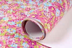 Бумага Глянец (И) Цветочки мелкие 70*100см 78г/м2 (10шт в уп) В123