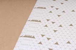 Бумага Глянец (И) Геометрия 70*100см 78г/м2 (10шт в уп) В125