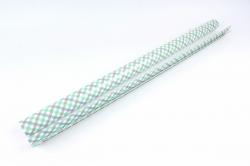 Бумага Глянец (И) Клетка косая 70*100см 78г/м2 (10шт в уп) В120