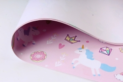 Бумага Глянец (И) Пони на розовом 70*100см 78г/м2 (10шт в уп) В122