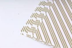 Бумага Глянец (И) Трехполоска белая 70*100см 78г/м2 (10шт в уп) В121