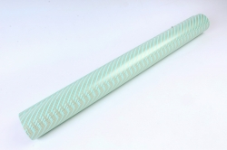 Бумага Глянец (И) Трехполоска мятная 70*100см 78г/м2 (10шт в уп) В121