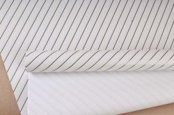 Бумага Глянец (И) Золотая полоса белая 70*100см 78г/м2 (10шт в уп) В121
