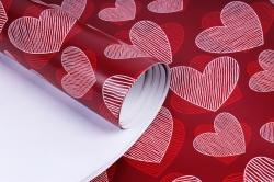 Бумага ГЛЯНЕЦ Струны сердца 100/459 (68*98см) (10 лист. в уп.)