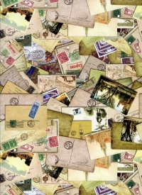 БУМАГА Глянец Воспоминания 0,7Х1М (10 ЛИСТОВ)