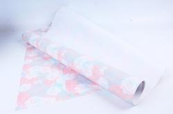 Бумага ГЛЯНЕЦ  100/358 Воздушные розы 68*98см (10 листов)