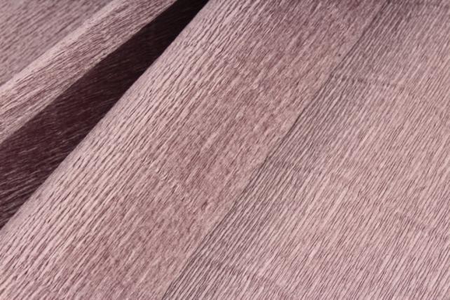 Бумага гофрированная простая 614 коричнево-серый